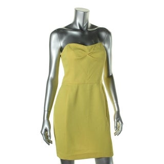 Rachel Rachel Roy Womens Mini Dress Textured Strapless