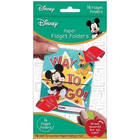 Fidget Folders, Mickey®, 16 Per Pack, 6 Packs