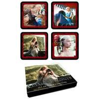 Game Of Thrones Daenerys Targaryen Coaster Set - Multi