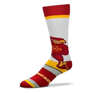 Iowa State Cyclones Mascot Socks