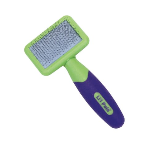 Coastal Pet Products Lil'l Pals Kitten Slicker Brush with Coated Tips