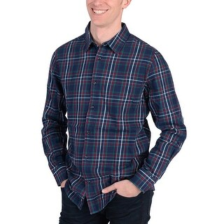 Adidas Mens Checkered Flannel Shirt Green - green/white/red/navy/multi