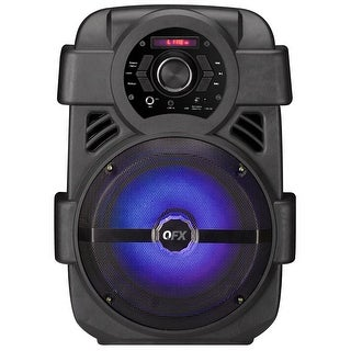 "QFX 8"" Rechargeable Party Speaker"