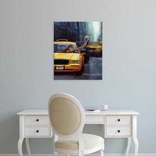 Easy Art Prints Lucia Heffernan's 'Rush Hour' Premium Canvas Art