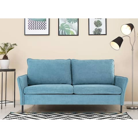 SMUGDESK Two-Seater Sofa In A Small Space For The Living Room - 75.2in x 32.28in x 33.85in