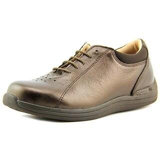 Drew Tulip W Round Toe Leather Sneakers