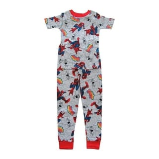 Marvel Boys Grey Red Spider-Man Short Sleeve Two Piece Pajama Set|https://ak1.ostkcdn.com/images/products/is/images/direct/6647f382cd849b4696da4dd17967732d6da6f88c/Marvel-Big-Boys-Grey-Red-Spider-Man-Short-Sleeve-Two-Piece-Pajama-Set-4-8.jpg?impolicy=medium