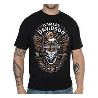 Harley-Davidson Men's Freedom of Choice Short Sleeve Crew T-Shirt - Black