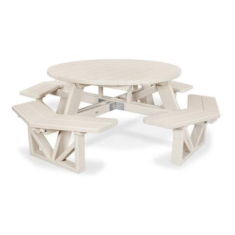 "POLYWOOD Park 53"" Octagon Table"