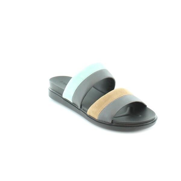 LOGO By Lori Goldstein Annie Women's Sandals & Flip Flops Pewter