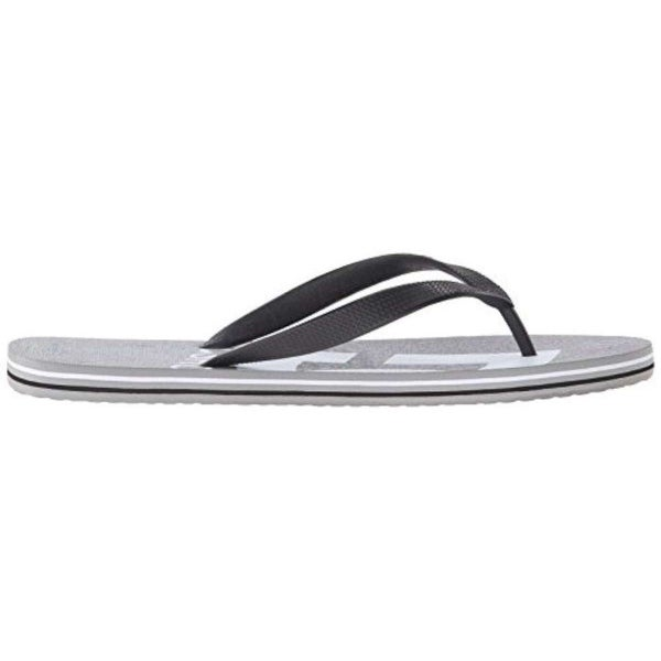 DC Mens Spray Graffik Slip On Open Toe Flip Flops - 6