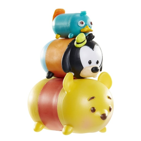 Disney Tsum Tsum 3 Pack: Perry, Goofy, Pooh - multi