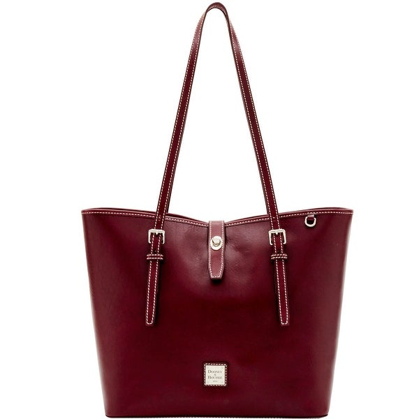 Dooney & Bourke Florentine Nuovo Dover Tote (Introduced by Dooney & Bourke at $468 in Dec 2016) - Bordeaux