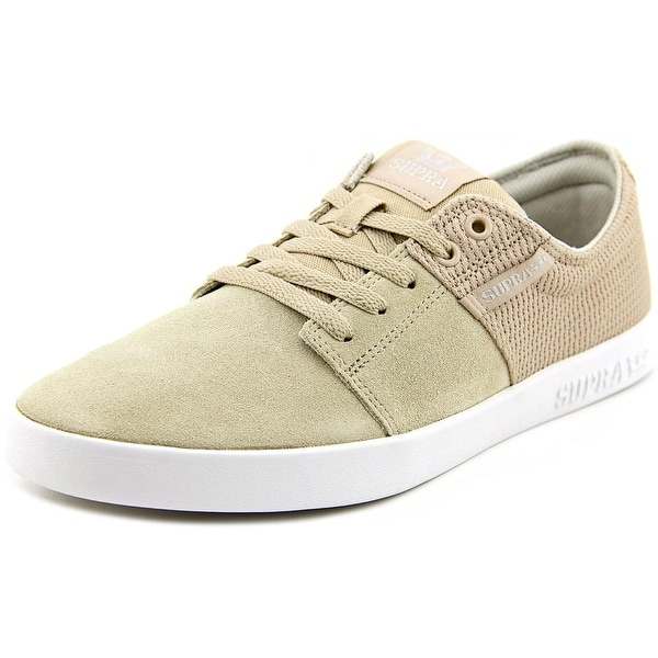 Supra Stacks II Men Tan-White Skateboarding Shoes