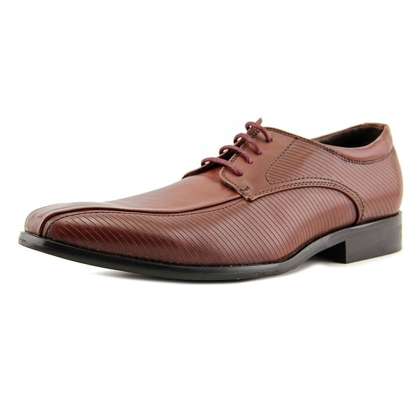 XRay Dressy Men Apron Toe Leather Brown Oxford