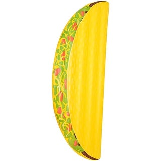 Inflatable 6.5 ft. Taco Pool Float - Multi
