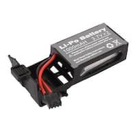 DC (2 x 3.7V) 1000mAh Rechargable Lithium Li-ion Battery w Black Shelf