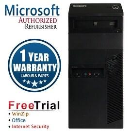 Refurbished Lenovo ThinkCentre M90P Tower Intel Core I5 650 3.2G 4G DDR3 500G DVDRW Win 10 Pro 1 Year Warranty