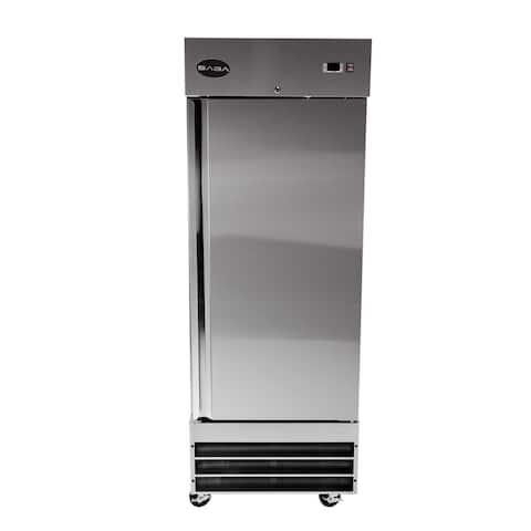 SABA S-23FF - One Door Commercial Reach-In Stainless Steel Freezer