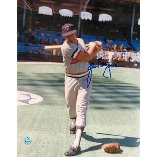 Glenn Borgmann Minnesota Twins Autographed 8x10 Photo