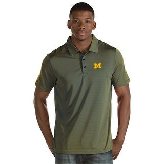 University of Michigan Men's Quest Polo Shirt (3 options available)