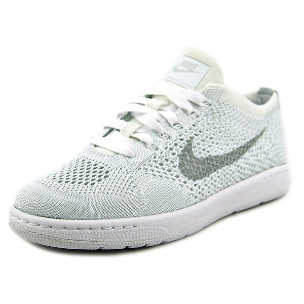 Nike Tennis Classics Ultra Flyknit Women Round Toe Synthetic White Sneakers