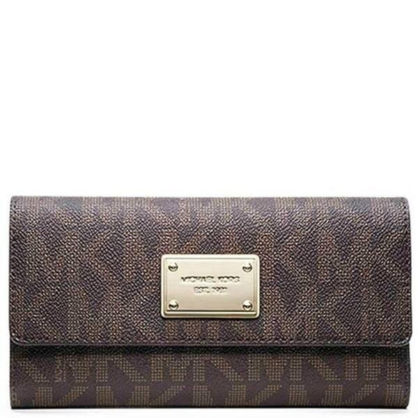 MK jet set wallet