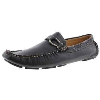 Bacco Bucci Mens Tiger II Leather Buckle Driving Moccasins - 13 medium (d)