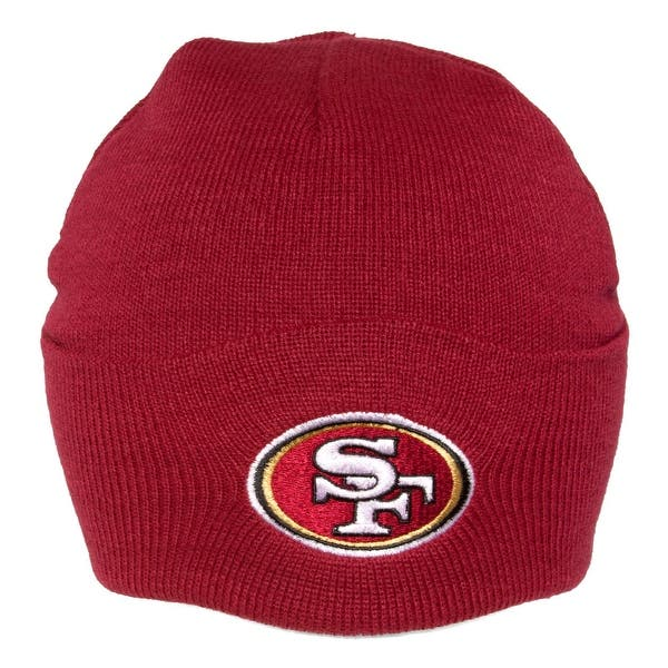 5995c33039e2b7 Shop San Francisco 49ers Cuffed Knit Hat - Red - Free Shipping On ...