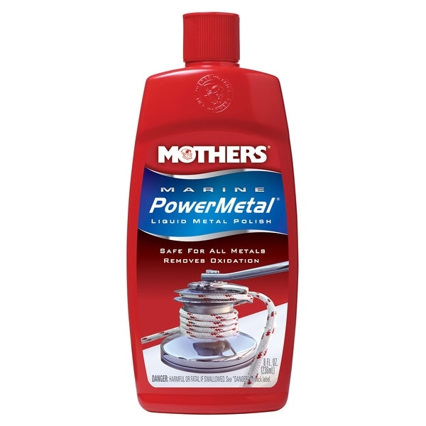 Mothers Marine PowerMetal Liquid Polish - 8oz