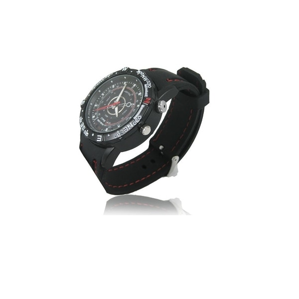 Spytec Bw-Hdspywatch2 Water-Resistant 720P Hd Video Watch With 8 Gb Internal Memory