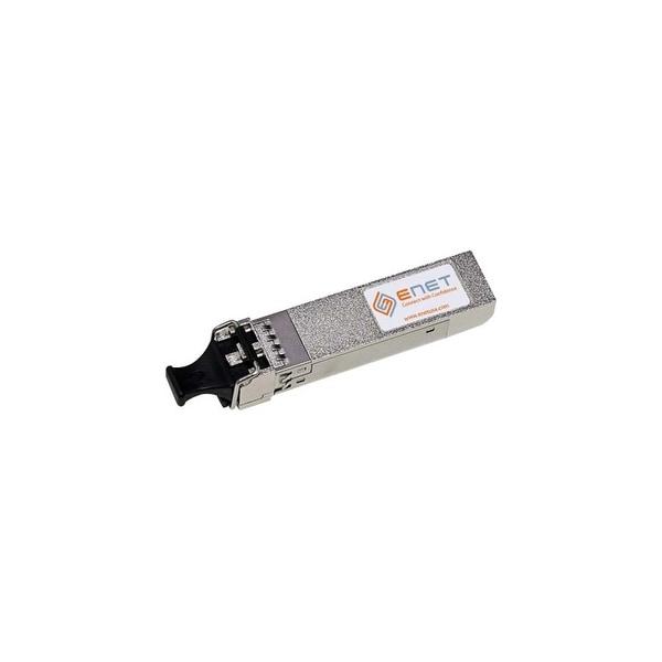 ENET SFP-10G-SR-ENT Cisco SFP-10G-SR Compatible 10GBASE-SR SFP+ 850nm 300m DOM Duplex LC MMF 100% Tested Lifetime Warranty and