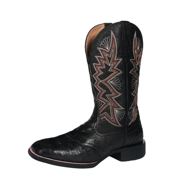 Noble Outfitters Western Boots Mens All Around Duke Ostrich
