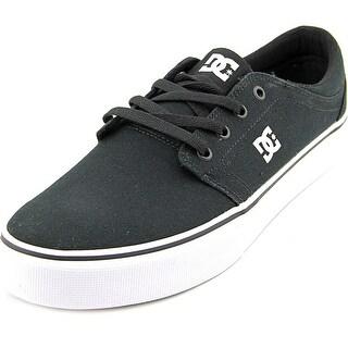 DC Shoes Trase TX Men Black/White Skateboarding Shoes