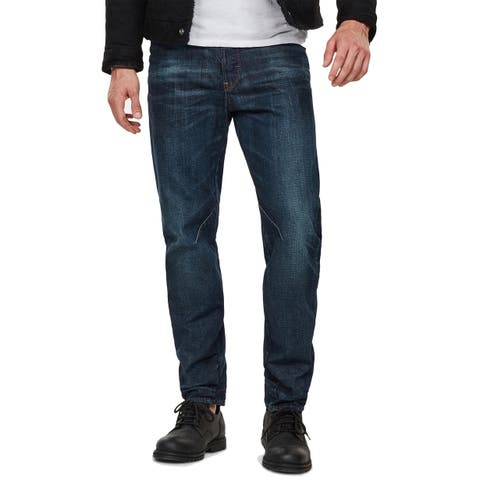 G-Star Raw Mens Jeans Blue Size 30X30 Relaxed Tapered Cotton Stretch