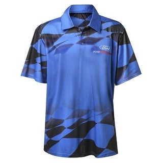 Ford Performance Polo Shirt - Short Sleeve Sublimated Print