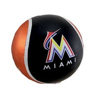 14 Inch Diameter Yall Ball Miami Marlins Inflatable Bouncy Ball - Multicolored