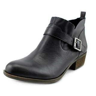 Lucky Brand Boomer Women Round Toe Leather Ankle Boot