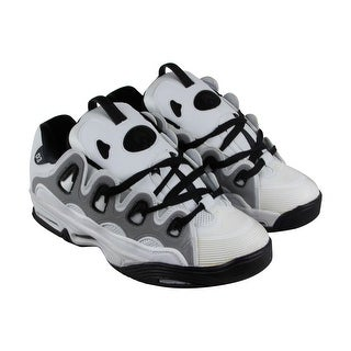 Osiris D3 2001 Mens White Synthetic Athletic Lace Up Training Shoes