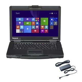 Panasonic CF-54F5-01VM with AC Adapter 14 Inch Semi-Rugged Laptop