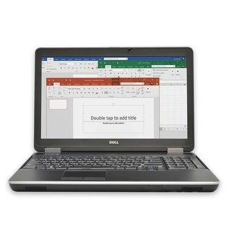 "Dell E6540 Laptop Computer 15.6"" Full-HD  i7 4GB RAM 500GB Windows 10 Grade B"