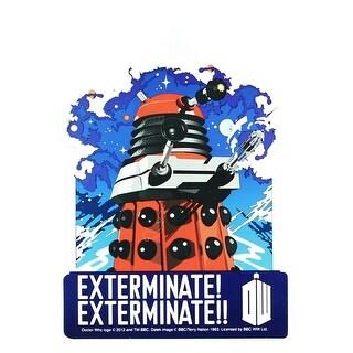 Doctor Who Sticker: Exterminate