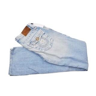 Big Star Women's Vintage Liv Straight Faded Light Jeans 23 Regular