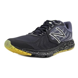 New Balance Mpace Men  Round Toe Canvas Black Running Shoe
