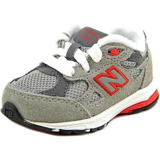 New Balance KJ990 EW Round Toe Canvas Running Shoe