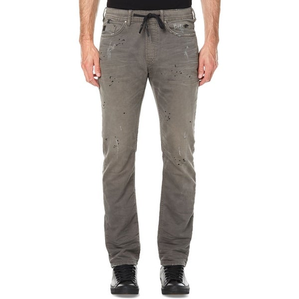0ed44809 Shop Buffalo David Bitton Gray Size Medium M Khakis Chino Stretch Pants -  On Sale - Free Shipping On Orders Over $45 - Overstock - 26904925