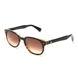 John Galliano Women's Horned Rim Round Sunglasses Tortoise - Small