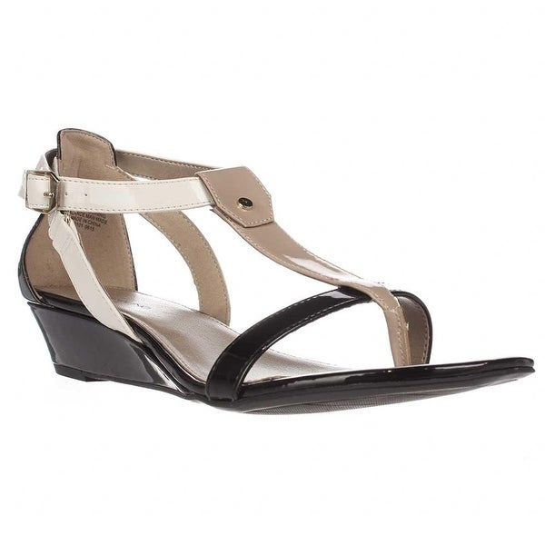 Bandolino Womens POOKY Open Toe Casual T-Strap Sandals