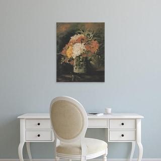 Easy Art Prints Vincent Van Gogh's 'Vase with Carnations, Summer 1886' Premium Canvas Art