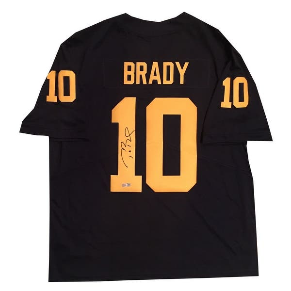 official photos f0042 ff154 Shop Tom Brady Autographed Michigan Wolverines Signed Nike ...